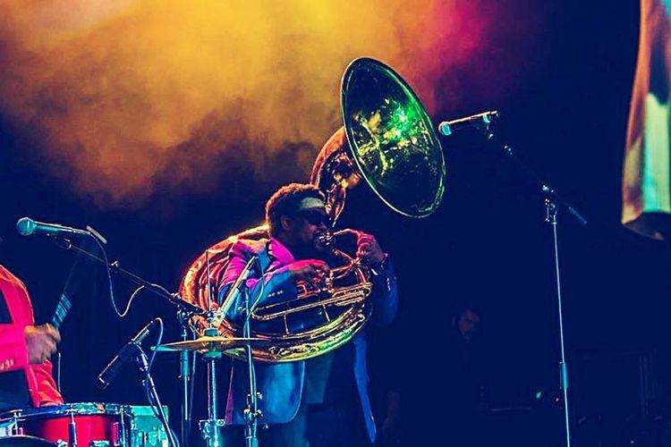 Tuba Enjoying Life Cheese! Talent Show Lake Charles Boyfriend❤