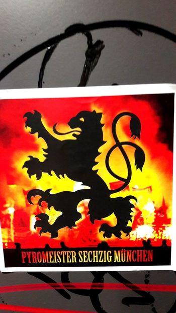 Streetart 1860münchen Stadium Allianzarena Footballculture Football No People Close-up Sticker Pyro