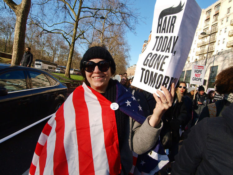 """Women's March On London. 21/01/2017 Protest against Donald Trump (American President?) Following his """"Grab Them By The Pussy."""" Comments, which many women have not surprisingly found offensive. Many other issues with the new president were covered too, also many men took part in this protest. So today they took to the streets around the planet to protest against President Trump? Here are the shots from the London Women's March........ Donald Trump Equal Rights  Femininity Feminism Grabthembythepussy Olympus President Protest Protesters Sexism Steve Merrick Stevesevilempire Trump Womens March London Womens Rights Womensmarch Zuiko Digital"""
