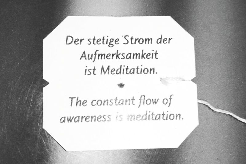 Great Words Spruch Teebeutelspruch Teebeutel Teabag Patter Yoga Schlaue Sprüche