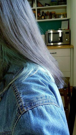 Pastel Hair Blue Eyes Turquoise Hair Me