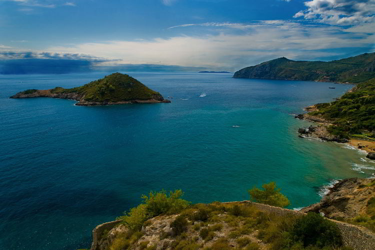#argentario #italy #tuscany Beauty In Nature Blue Day Horizon Over Water Landscape Mountain Nature No People Outdoors Scenics Sea Sky Tranquil Scene Tranquility Water