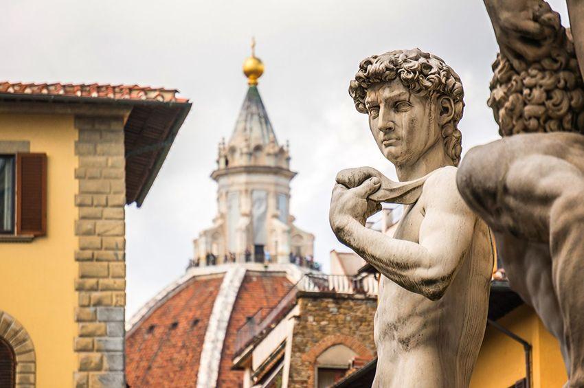 David Florence Firenze Italy Bella Italia Statue Dome Duomo Architecture