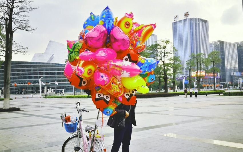 Balloons☆ Street Photography Getting Inspired Dongguan City