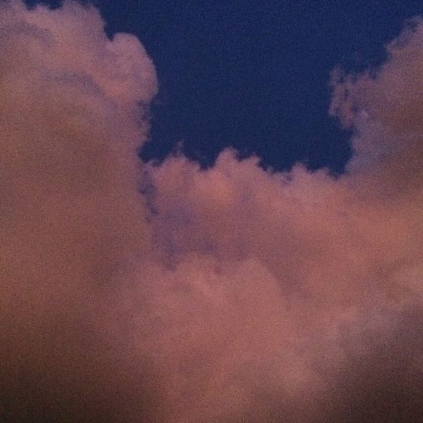 Beauty In Nature Cloud - Sky it's perfect color sooooo beautiful 💕 Dramatic Sky Sky Nature Sky Only Sunset Multi Colored
