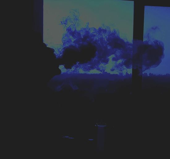 Abstract Blue Indoors  Close-up Dissolving Sky Day Sillhouette Smoking Dope S8Photography Pro Afternoon Sky Afternoon Blues Afternoonvibes EyeEm Ready   EyeEmNewHere
