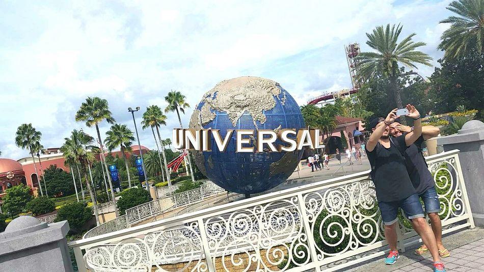caught!😈 Full Length Outdoors Sky Universal Studios  Selfies Selfie ✌ Off Guard People