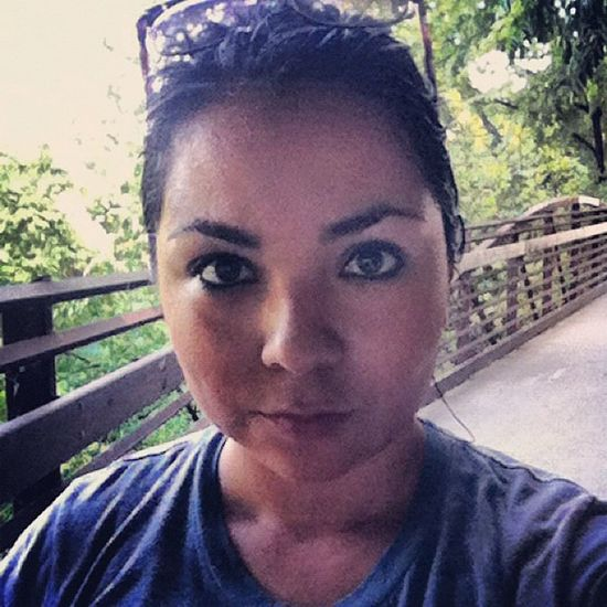 ZilkerPark Austin ATx Running fitness sweaty active dedication eyes selfie