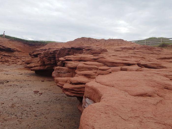 EyeEmNewHere Prince Edward Island Red Rocks  Canada Summer Erosion Sand Dune Desert Arid Climate Sand Sky Landscape Eroded Physical Geography