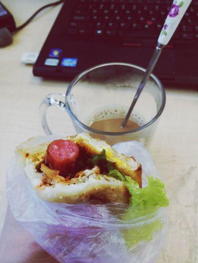 中西结合breakfast