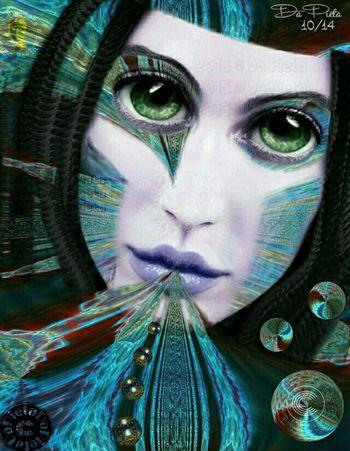 ?BIRTH OF THE GALAXIES ? Fantasy Edits Fantasy Cyborg 3-D Birth Digital Art Galaxy Surrealism And Fantasy Art Surrealism Art