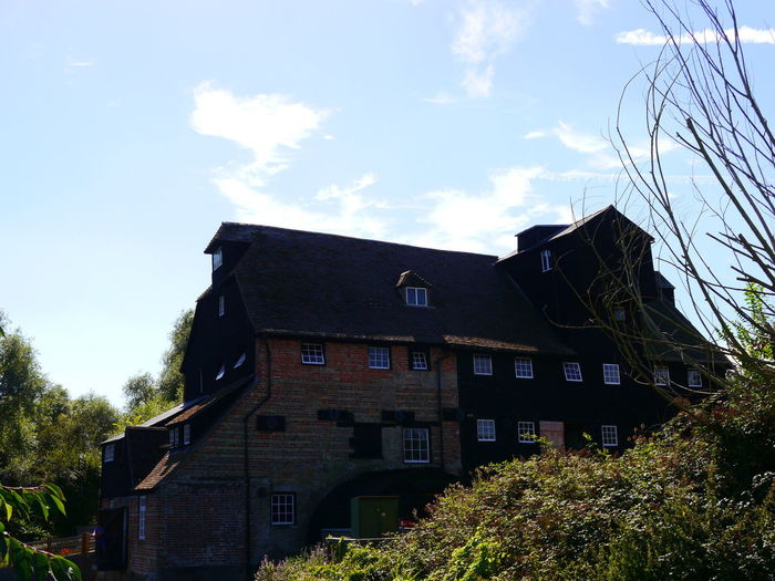 Architecture Blue Sky Building Exterior Built Structure Day Grass Houghton Water Mill National Trust National Trust 🇬🇧 Nature No People Outdoors Scenery Sky Tree