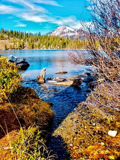 Mammoth Mountain Lake George Mammoth Lakes, CA Mountains Eastern Sierras Water Beauty In Nature Tranquil Scene Tranquility Scenics - Nature Plant Tree Mountain