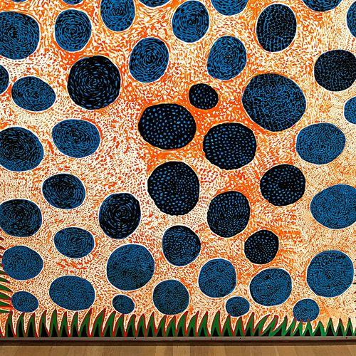 やよいちゃん Artmuseum Kusama Yayoi Yayoi Kusama Dots Minimalism Surrealism Dadaism