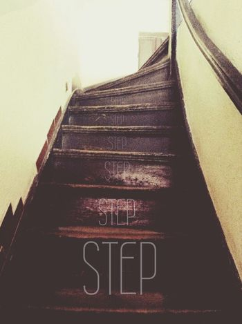 Stairs Escaping Tired