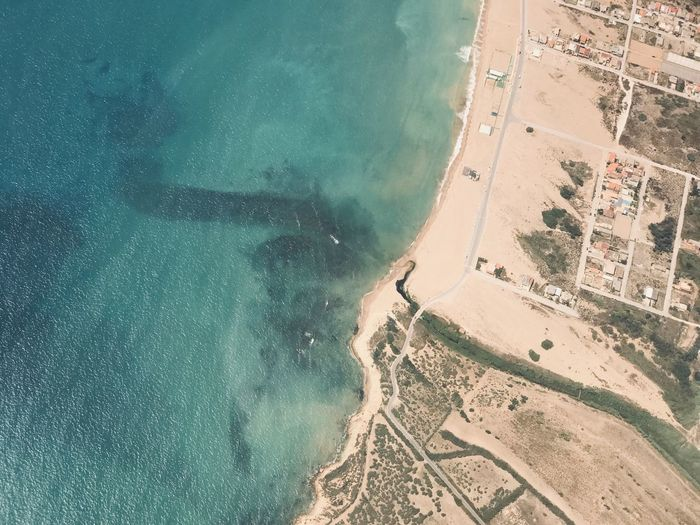 Water Land Aerial View Beach Sea Nature Scenics - Nature Travel Destinations Coastline High Angle View Environment 17.62°