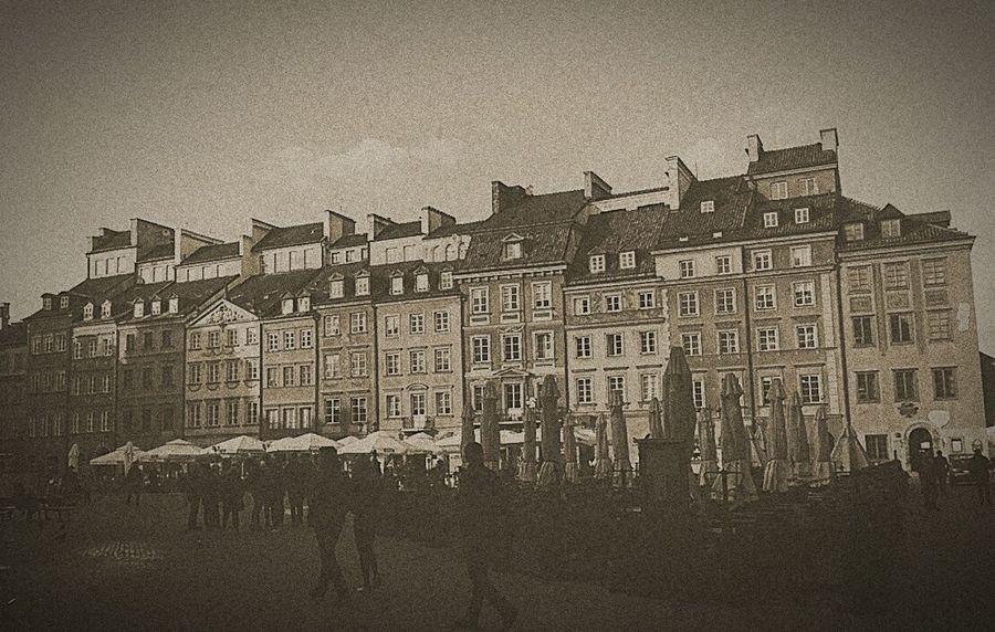 Old Town Warsaw Retro Vintage Warsawthecapitolofpoland Warsaw Love