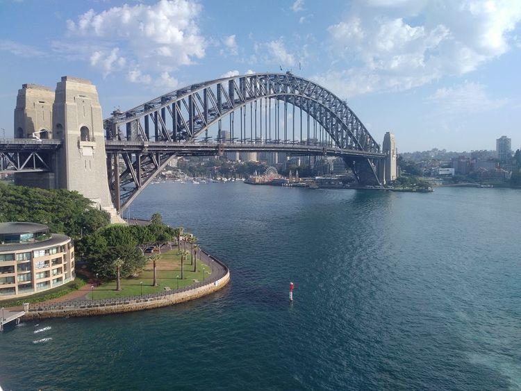Bridge - Man Made Structure Sydney sydney harbour bridge Bridge Over Water