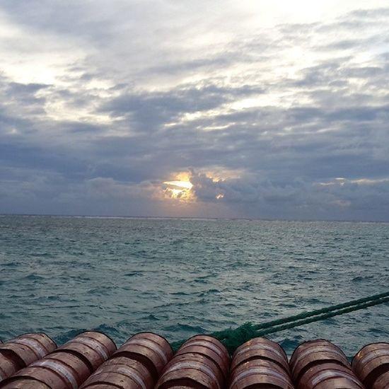 Sea Sunset #sun #clouds #skylovers #sky #nature #beautifulinnature #naturalbeauty #photography #landscape