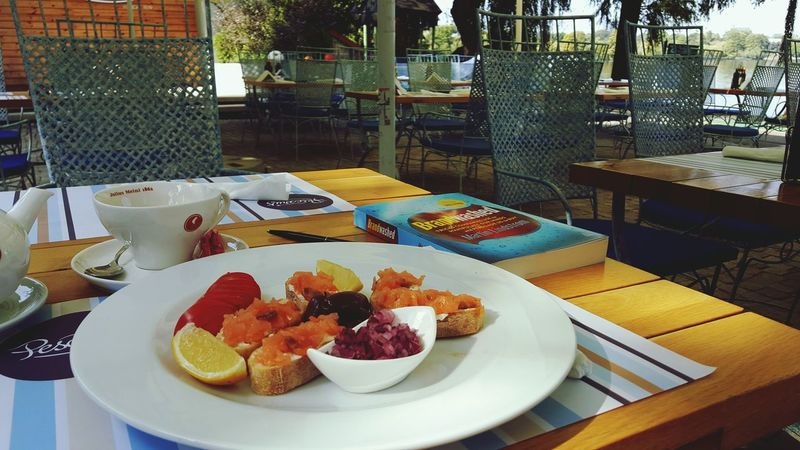 Morningslikethese Morning View Breakfast Of Champions Breackfast With Sea View Breakfast Time! Salmone