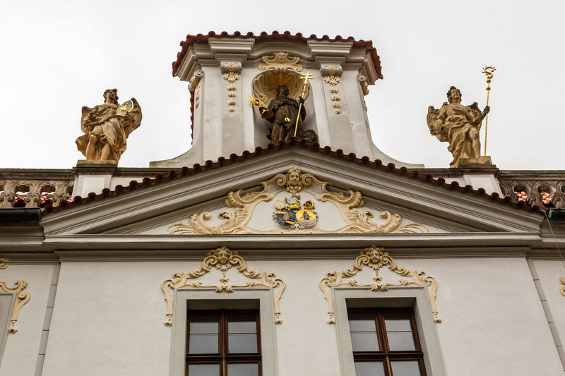 Architecture Bas Relief Building Exterior Built Structure Day Façade Female Likeness Human Representation Low Angle View Marble No People Ornate Outdoors Sculpture Sky Statue Travel Destinations