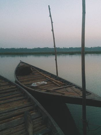 Water Nautical Vessel Transportation Mode Of Transport Wood - Material Lake Nature Scenics No People Mountain Day Beauty In Nature Sky Outdoors Tranquility Moored EyeEmNewHere Eyeembangladesh Mobilephotography @anickchowdhurymp