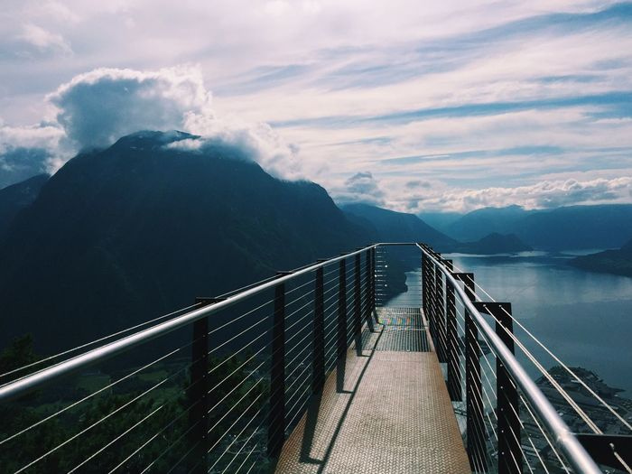 Andalsnes spectacular viewpoint