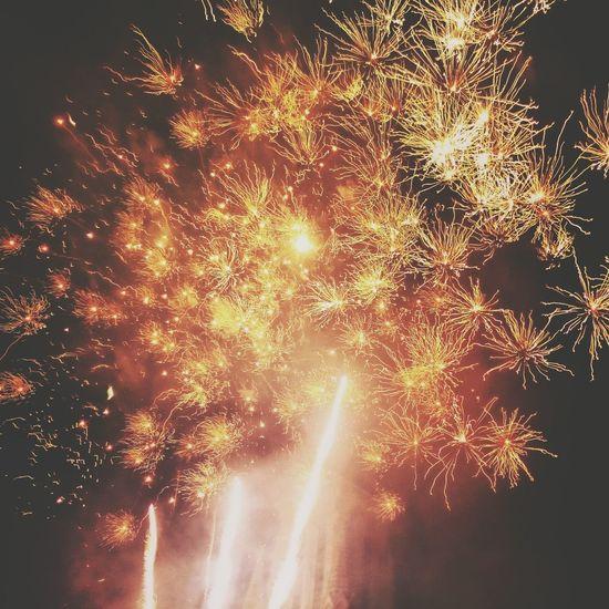 Fireworks Nationalday France