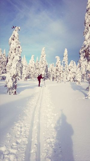 In Heaven Cross Country Skiing Check This Out Enjoying Life