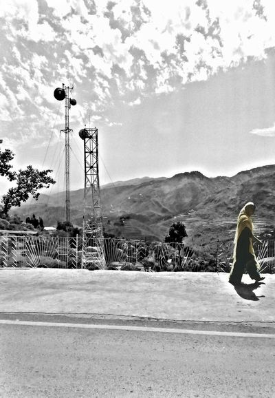 The Answer Was Too Simple And I Was Too Smart To See It... Girl Mountains Blackandwhite Murree Pakistani Traveller