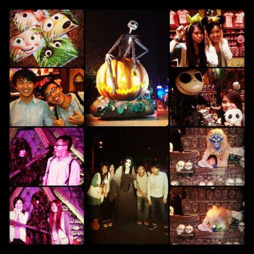 Photo by Ringo、Louis & @suko_love Framemagic Disney Disneylover Scary halloween happyhalloween hongkong