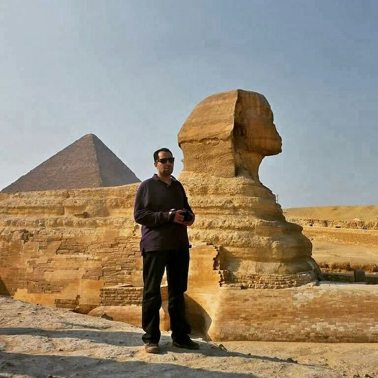 Walk like an Egyptian Pryamids Sphinx Hello World That's Me Enjoying Life Egypt Pyramides Of Giza Self Portrait Traveling Hanging Out