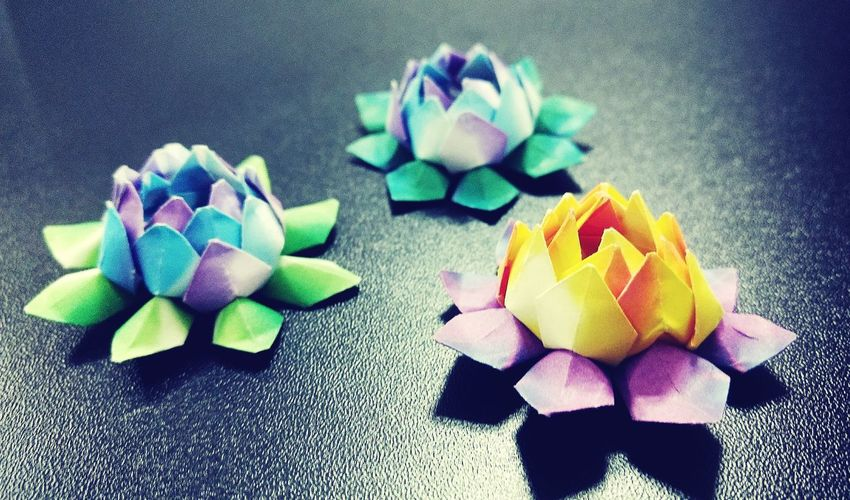 Origami Origamiart Origami, Paper, Concept, Symbol, Handmade, Butterfly, Card, Design, Spring, Gift, Decoration, Shape, Label, Greeting, Day, Sign, Unique, Holiday, Template, Decor, Simple, Love, Object, Emotion, Trendy, Romantic, Feeling, Romance, Silhouette, Image, Amour, Flower Multi Colored Lotus Photography