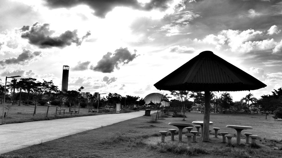 Cloud - Sky Dramatic Eye My Dramatic Look  Blackandwhitephotography São Paulo, Brasil City Life Black & White Villa Lobos SP Tranquility Idyllic Black And White Photography My Dramatic Look