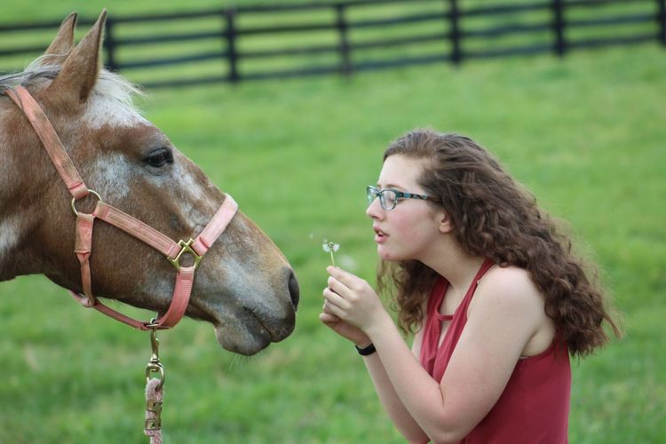 My horse Gypsy and I ♥️ Appaloosa Equinephotography First Eyeem Photo