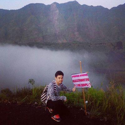2.168 MDPL, puncak Gunung Galunggung.. Travelingindonesia INDONESIA Mountain Hike Youth