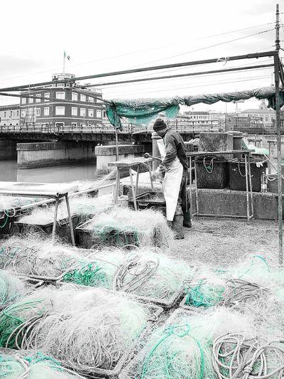 Fishing Net Fishermen People Real People Real Life. Hardwork EyeEmNewHere