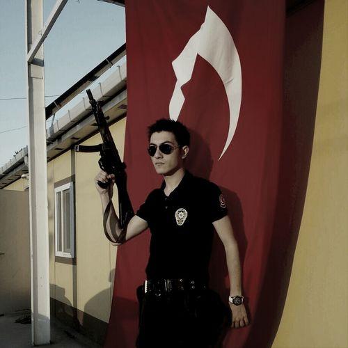 Herşey Vatan İçin !!! Everything For The Homeland !!! Police That's Me Street Cool