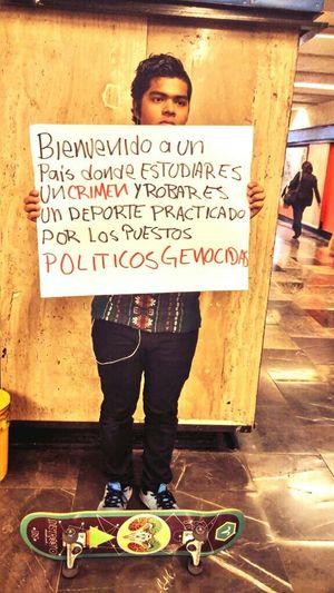 """""""No sabían que éramos semilla... YaMeCansé2 TodosSomosAyotzinapa"""