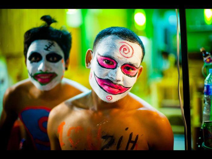 Colour Of Life FoolMoon Thailand Koh Phangan Face Makeup Mask