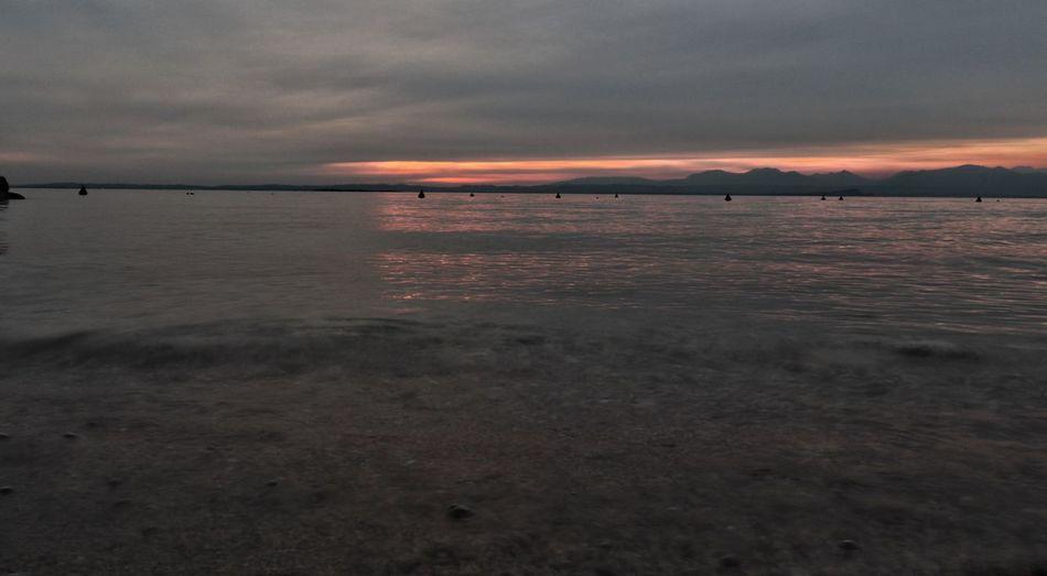 lake Lake Garda Lazise Lake Garda Sera Pinklake Lake Italy Lake Lazise Sun Low Tide Sea Sunset Red Water Sunlight Silhouette Outdoor Pursuit Water's Edge