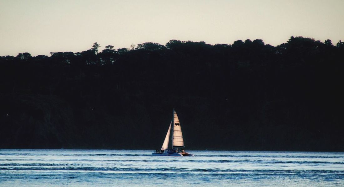 Smooth Sailing... Real People Adventure Nautical Vessel Nature Outdoors Water Tranquil Scene One Person Beauty In Nature Clear Sky Sea Sailing Sailboat Waterfront Full Length Vacations Scenics Day Sky People Ocean Ocean View Tranquility Calm Peaceful