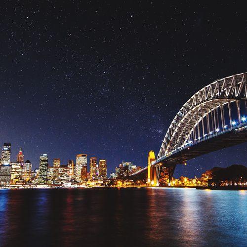 Sydney by night. Showcase: January EyeEm Best Shots EyeEmBestPics EyeEm Gallery Cityscapes City Sydney Harbour Nightphotography