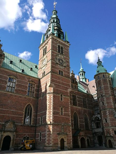 Architecture Building Exterior Low Angle View Built Structure Gothic Style History Denmark 🇩🇰 FredriksburgCastle