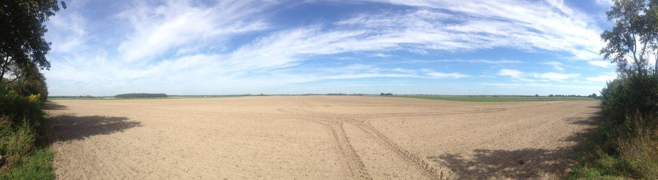 empty fields Walking To Poland