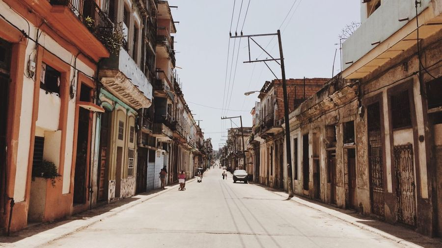 Streets of Cuba Street Cuba Havana Building Exterior Built Structure Architecture The Way Forward Residential Building Day Outdoors City
