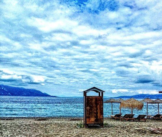 Greece Summer Beach Sea Clouds Cloudporn 2015