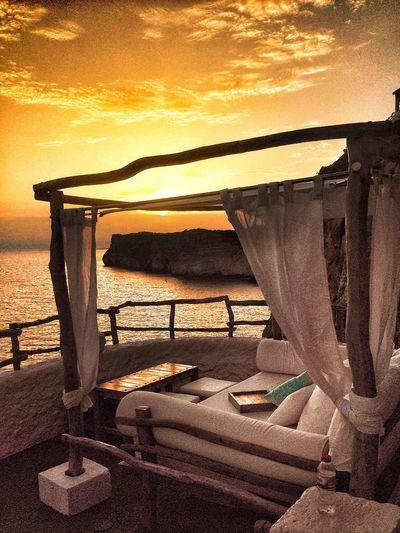 Last Light Enjoying The Sun Menorca