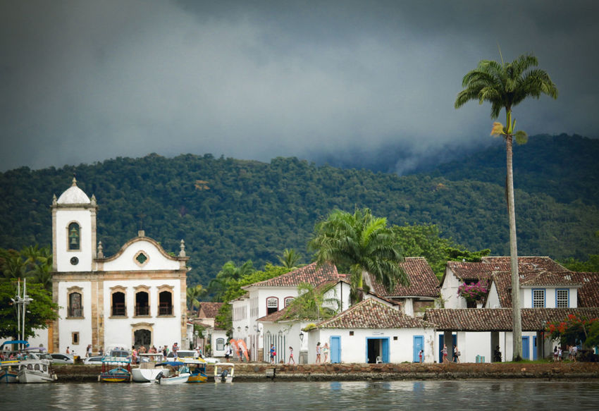 Paraty -RJ Architecture Built Structure Nautical Vessel Outdoors Paraty - RJ Sky Travel Destinations Water This Is Latin America