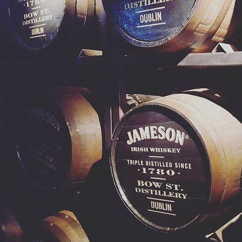 Jameson Dublin Distillery Street Old Building Whiskey Jamesonwhiskey Barrels Irishwhiskey Bowstreet Lovedublin 1780 Triple Jamesondistillery